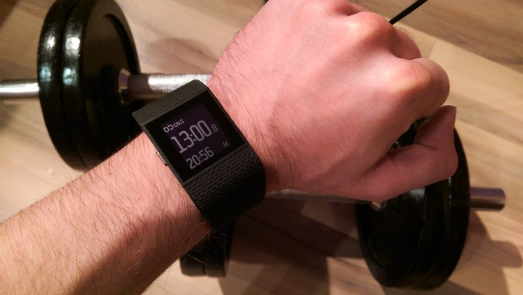Fitnes smart watch fitbit surge