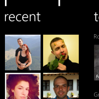windows phone 8 people hub