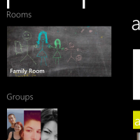 windows phone 8 people hub groups