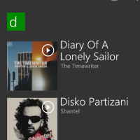 windows phone 8 music+videos album view