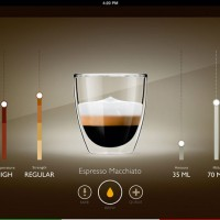 Philips coffee recipe app