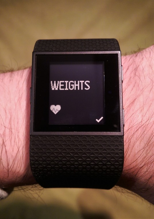 Fitnes smart watch fitbit surge