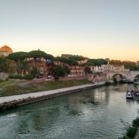 река Тибър - Рим