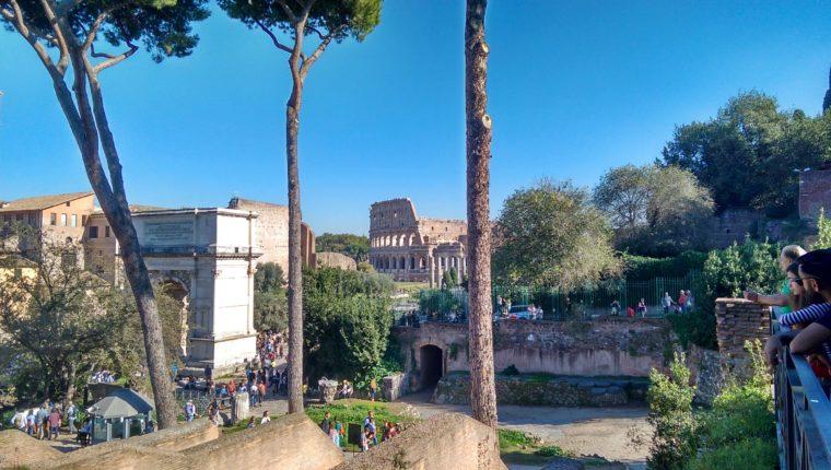 римския форум и колзеума