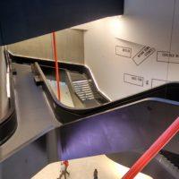 стълбище в MAXXI