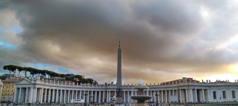 Ватикана - залез