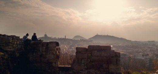гледка от небет тепе към Пловдив