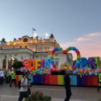 Шествието София Прайд 2019 пред Народното събрание