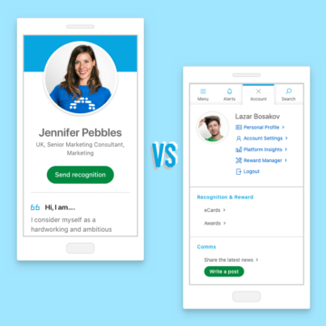 Account vs profile