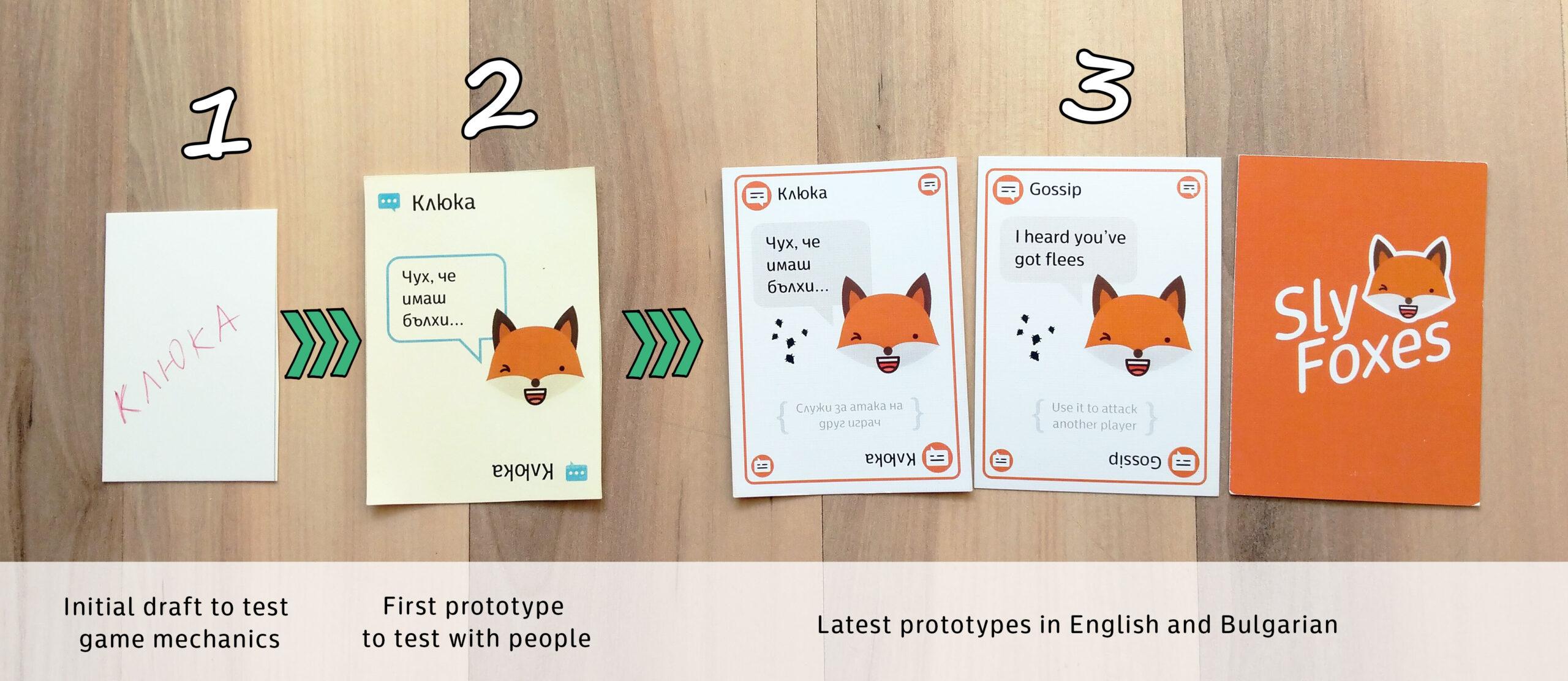 sly foxes prototype