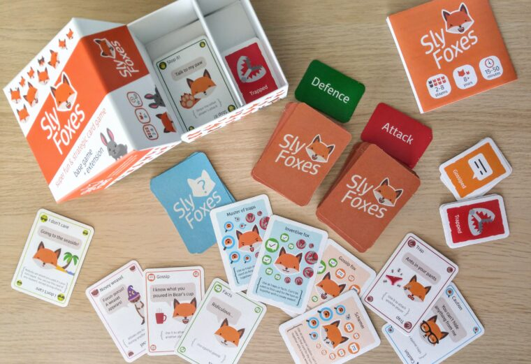Sly Foxes card game
